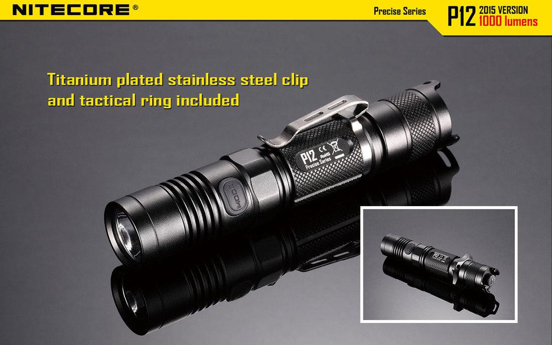 Nitecore P12 LED Elemlámpa 1000lumen