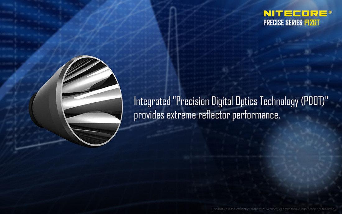 Nitecore P12GT LED Elemlámpa 1000 lumen