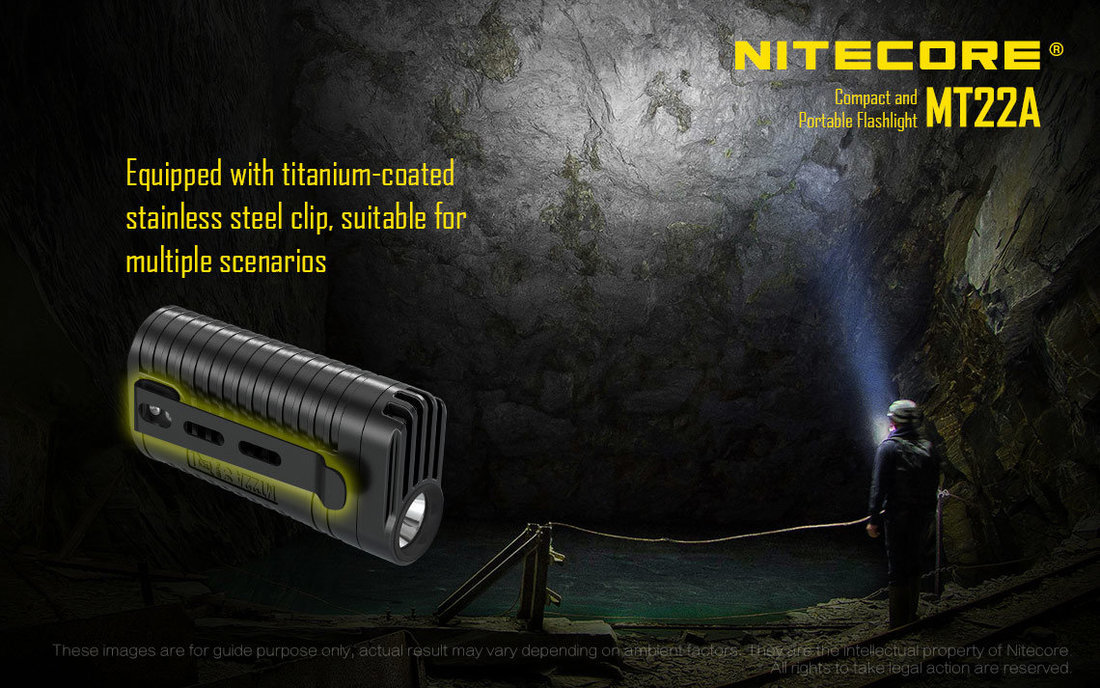 Nitecore Elemlámpa MT22A (2xAA) CREE XP-G2 S3 (260 lumen)