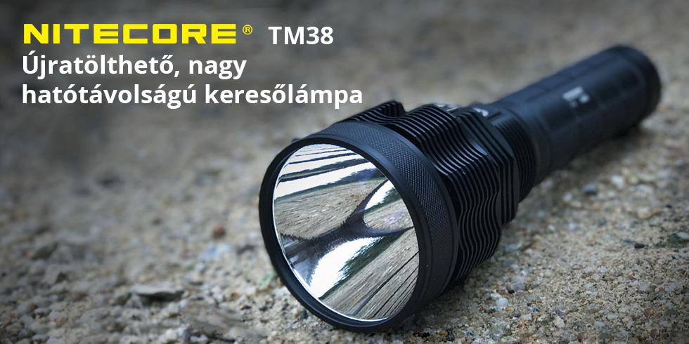 Kompromisszumok nélkül a Nitecore TM38-cal