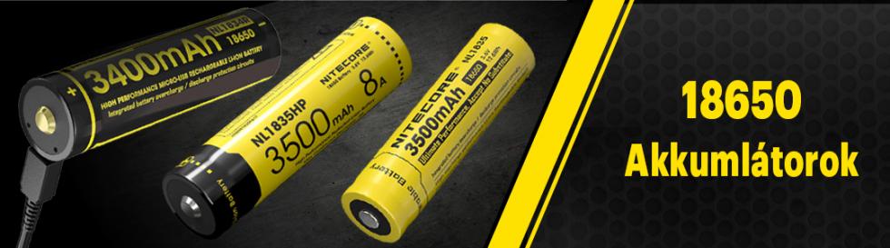 Minden amit tudni érdemes a 18650 akkumulátorokról!