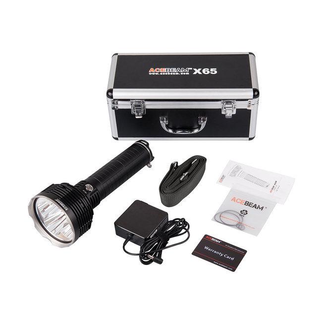 Acebeam X65 LED Elemlámpa 12000 lumen