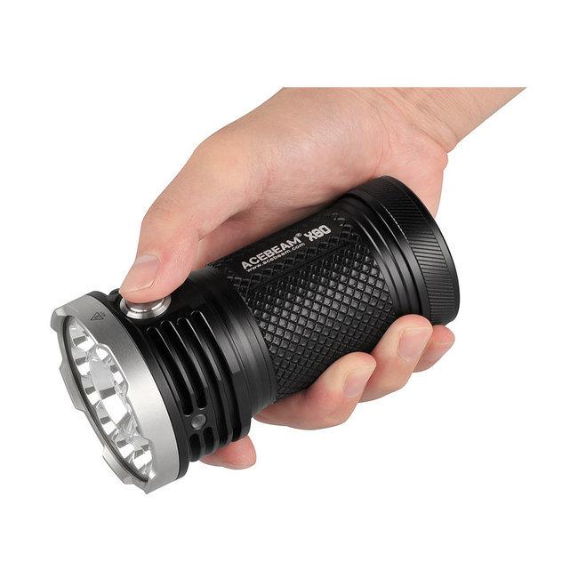 Acebeam Elemlámpa X80 (4x18650) CREEXHP50.2 (25000 lumen)