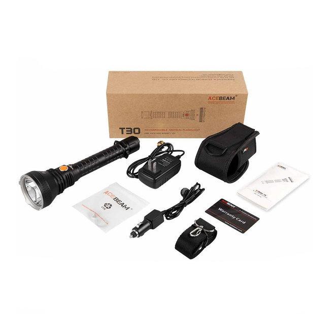 Acebeam T30 Elemlámpa (2x26650 - tartozék) CREE XHP35 HI (2200 lumen)