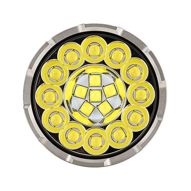 Acebeam Elemlámpa X80-GT (4x18650-  tartozék) 18xCREE (32500 lumen)