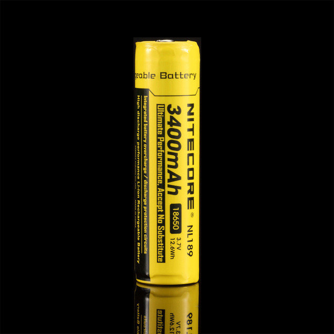 Nitecore Kellék Akkumulátor NL1834 18650 3400mAh